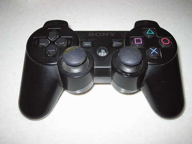 DS3 Dualshock3 デュアルショック3 Wireless Controller Black CECHZC2J A1 分解前の状態