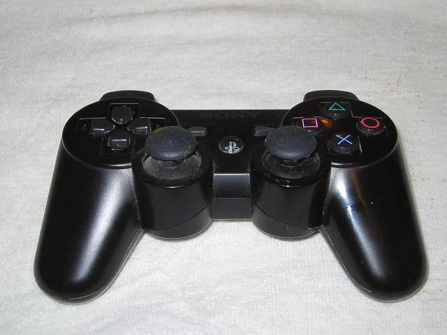 DS3 Dualshock3 デュアルショック3 Wireless Controller Black CECHZC2J A1 分解前簡易洗浄