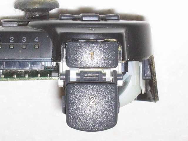 DS3 Dualshock3 デュアルショック3 Wireless Controller Black CECHZC2J A1 分解作業、L1・L2 ボタン正面から撮影