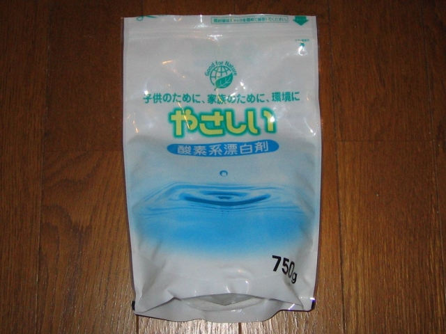 やさしい 洗濯用 酸素系漂白剤 750g