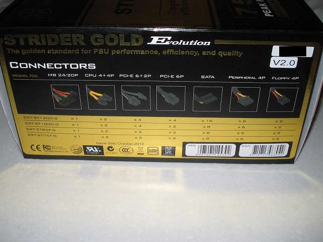 SilverStone STRIDER Gold Evolution SST-ST75F-G-E