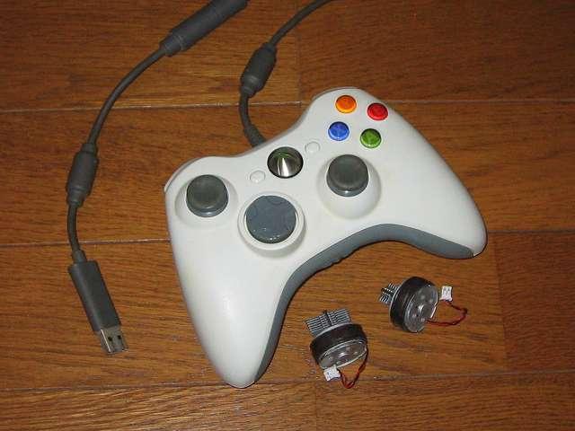 長年愛用していた Xbox 360 有線コントローラー(ホワイト)