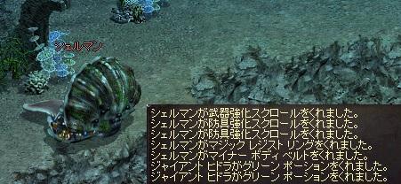 0715DEと貝