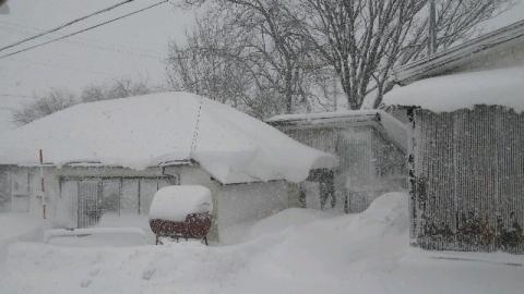 12月18日の大雪