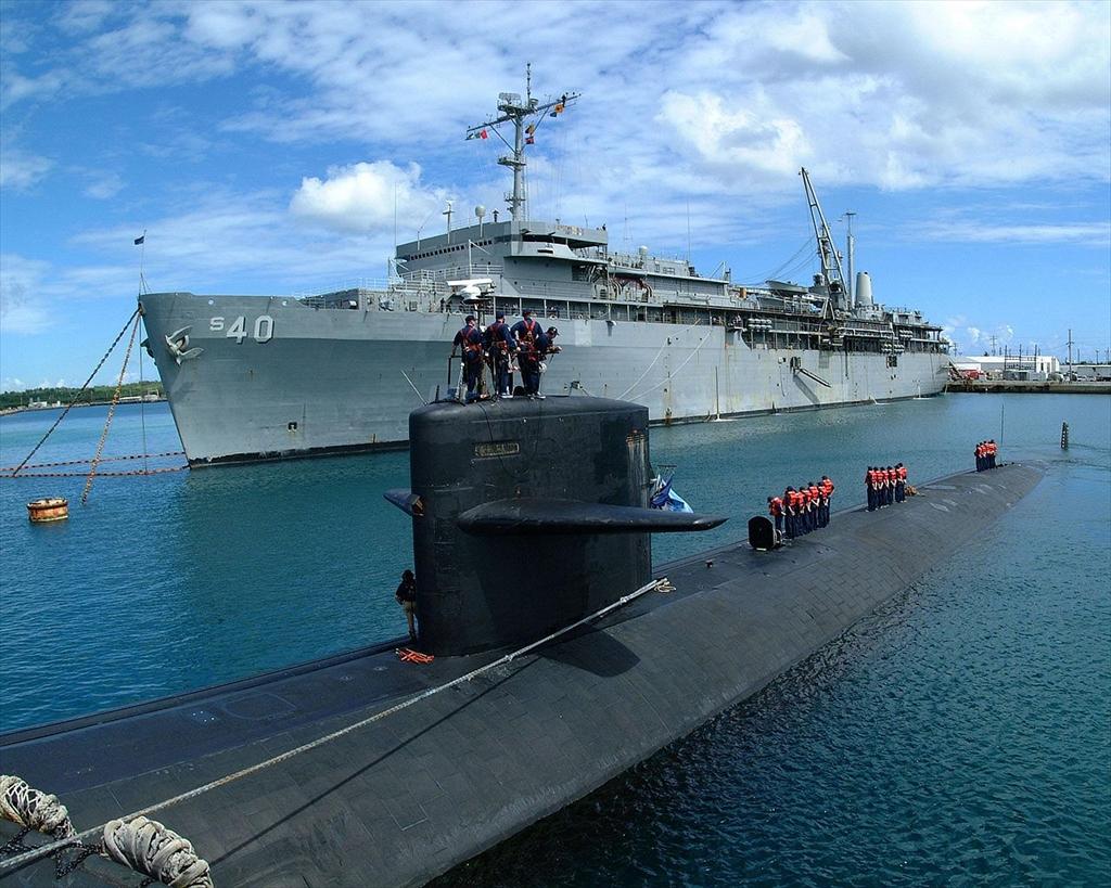 潜水艦母艦AS-40「フランク・ケーブル」_14