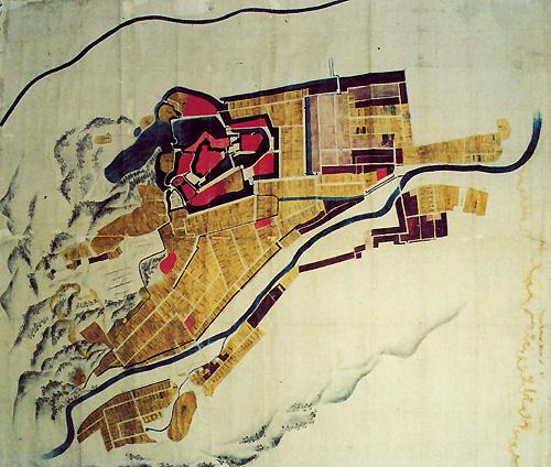 中村城下地図