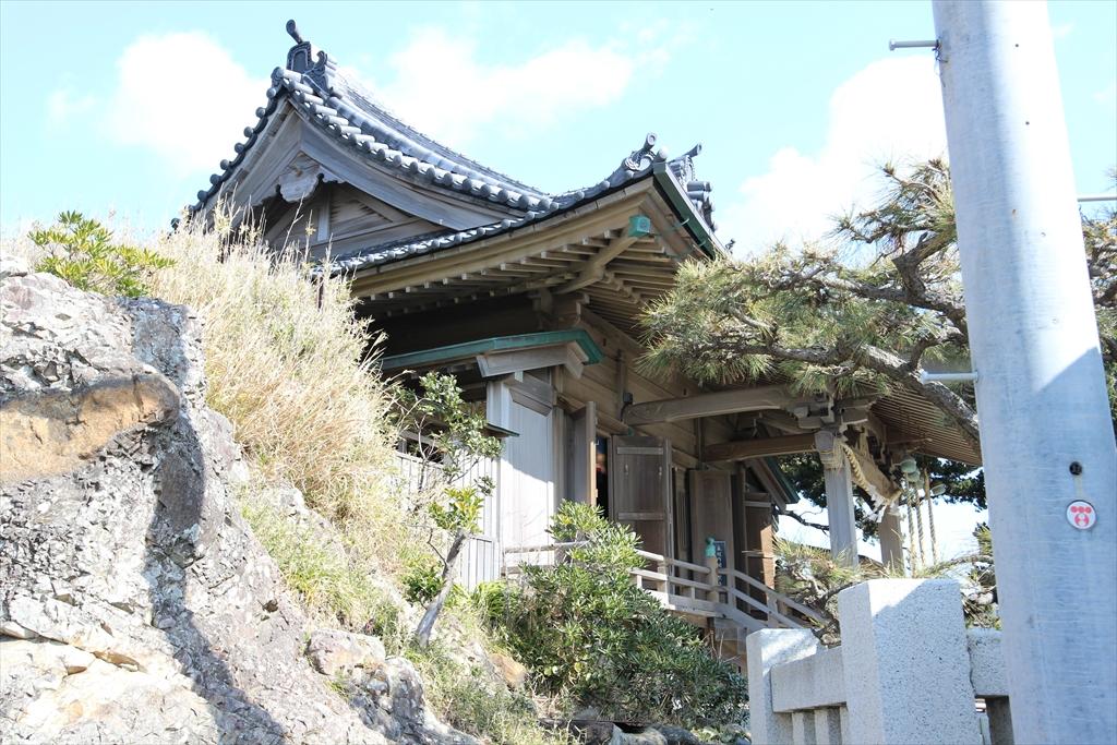 森戸神社の拝殿_2