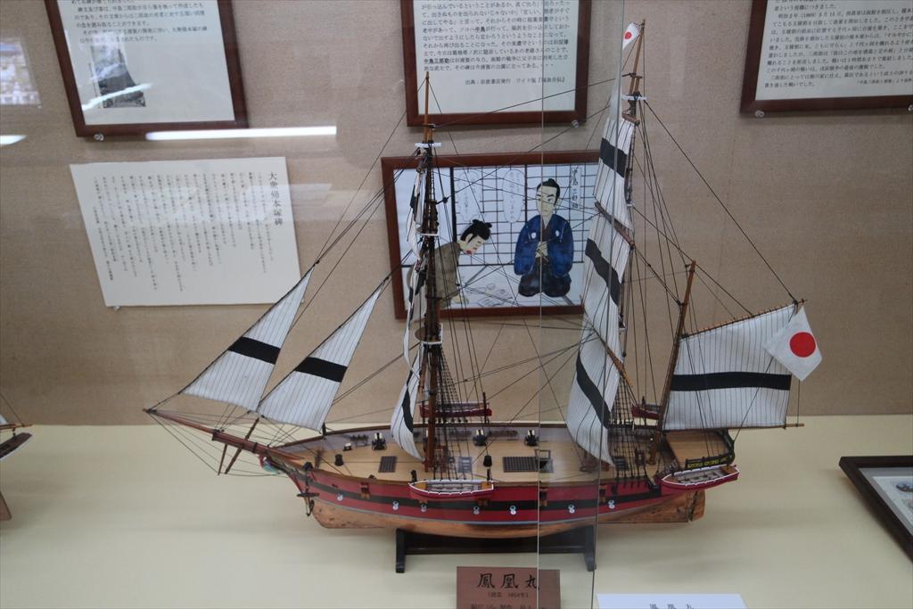 日米の帆船_2