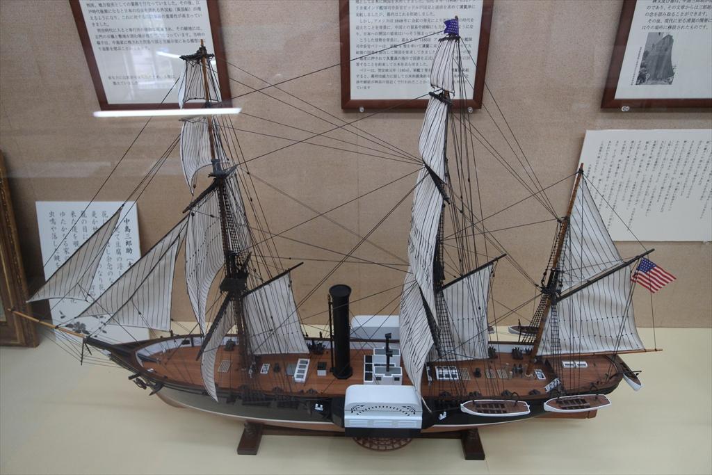 日米の帆船_3
