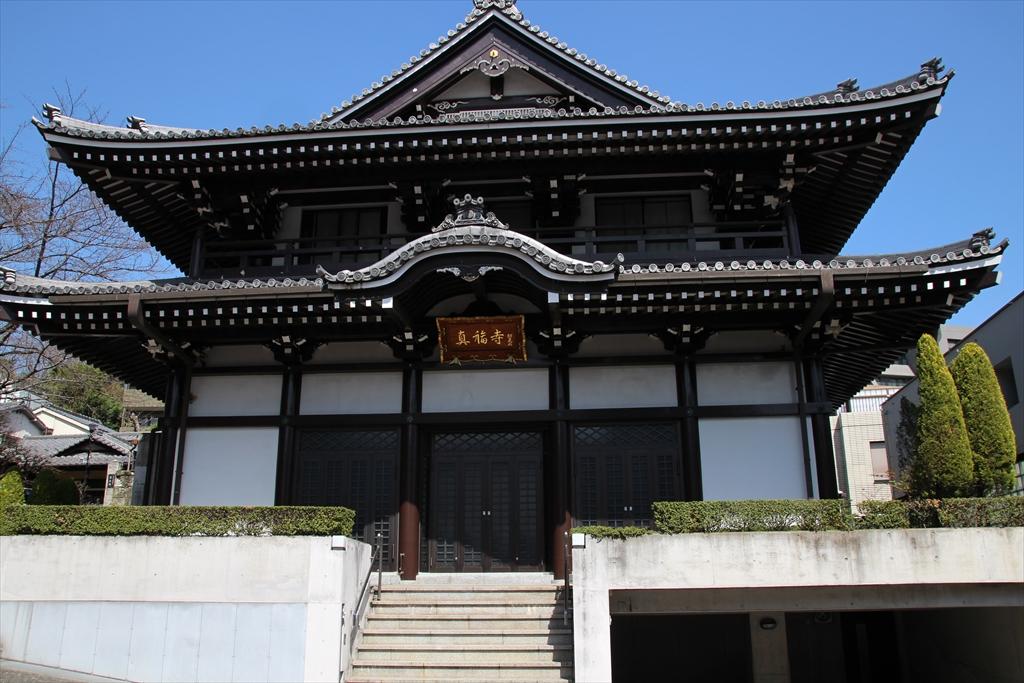 善福寺の周辺にはお寺さんが集中している_1