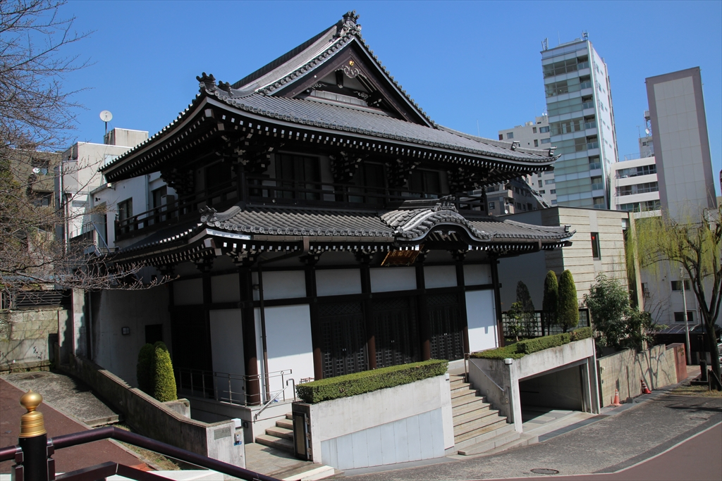 善福寺の周辺にはお寺さんが集中している_3