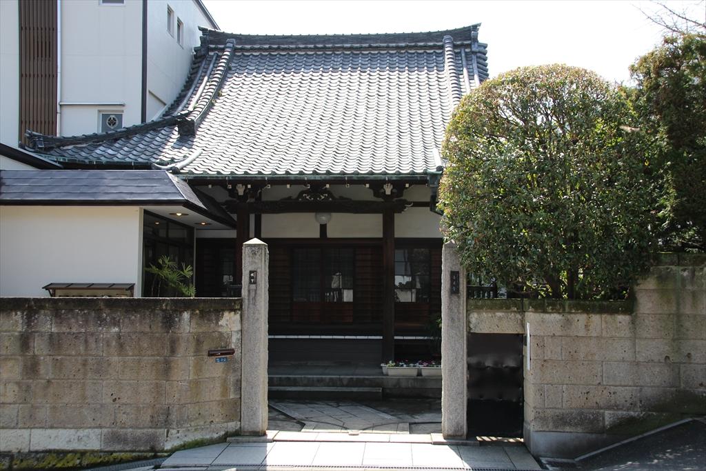 善福寺の周辺にはお寺さんが集中している_4