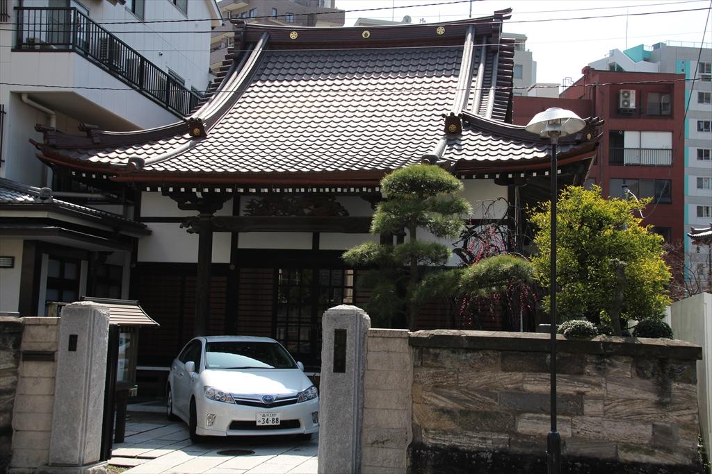 善福寺の周辺にはお寺さんが集中している_6
