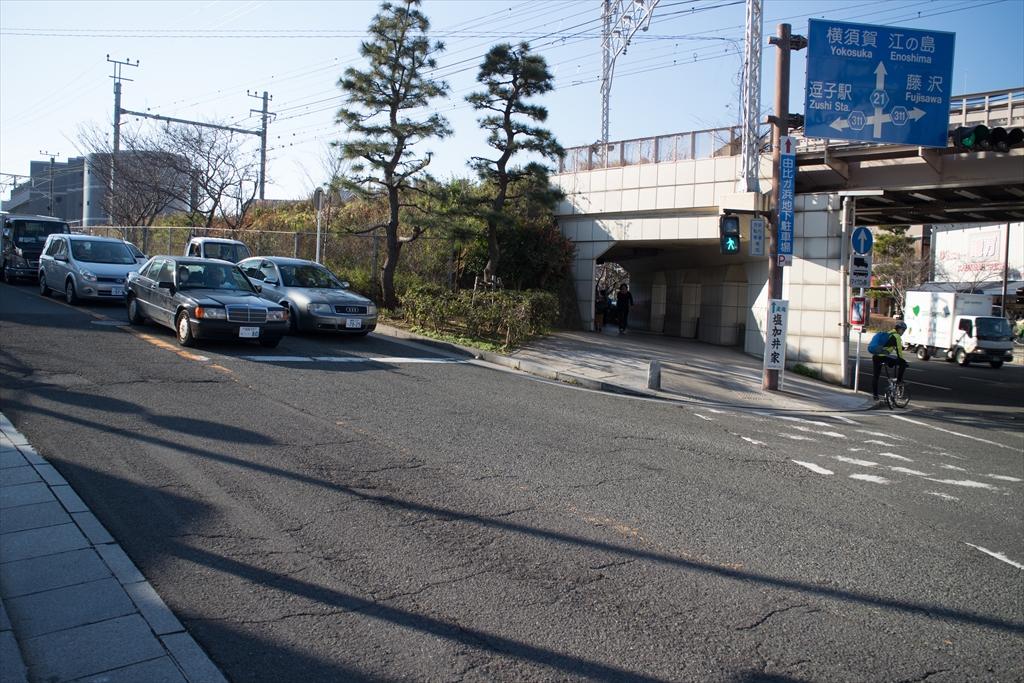 横須賀線のガード