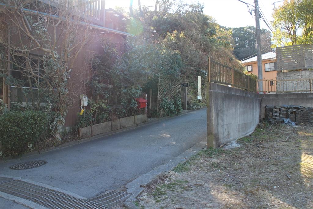 天園ハイキングコースの入口_1