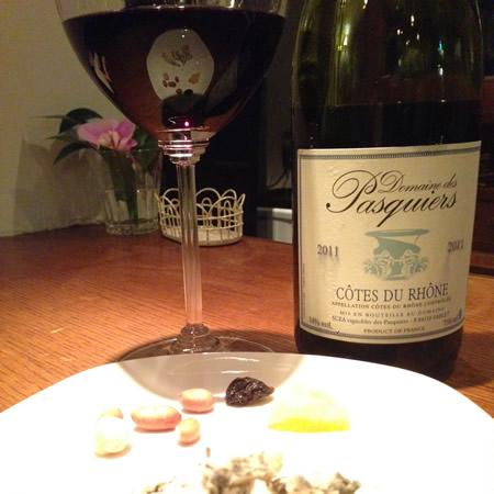 フルムダンベールと赤ワイン