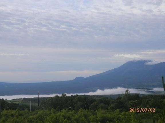 浅間山&雲海