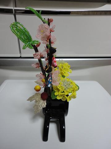 桃と菜の花③