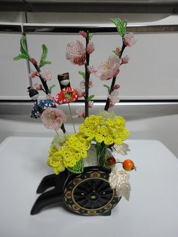 桃と菜の花①