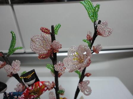 桃と菜の花⑩