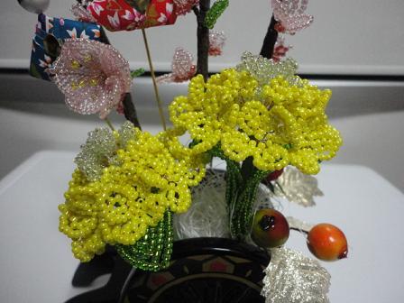桃と菜の花⑧