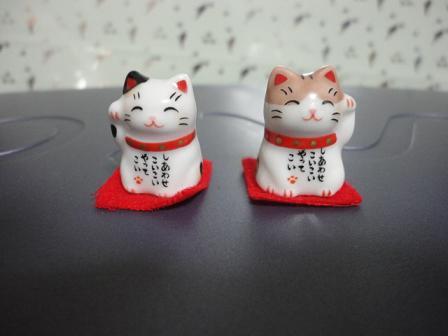 小さな招き猫②
