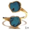 Turquoise Wrap Ring Gold 1+ (5)1