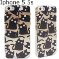 IPHONE 5 5S GOOGLY CAT CASE1111