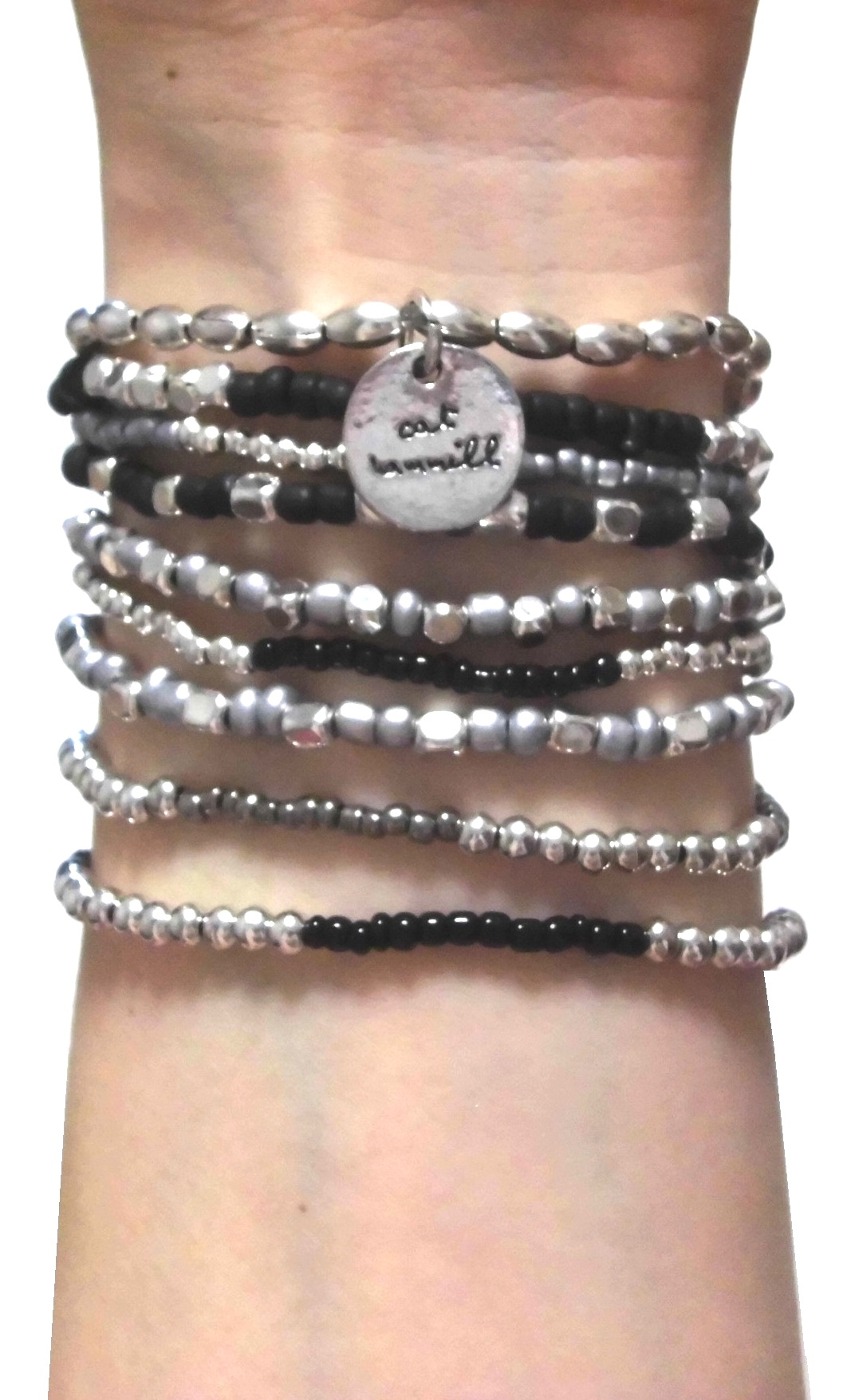 Black and Silver Coco set black silver (1)