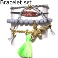 A312 Deluxe Birdy Gold Set of 4 bracelet multi (10)1