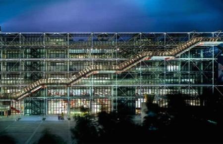 Ile-de-France-Paris-Centre-National-dArt-et-de-Culture-Georges-Pompidou-Le-Centre-Pompidou-de-nuit-©-Centre-Pompidou-Photo-Georges-Meguerditchian