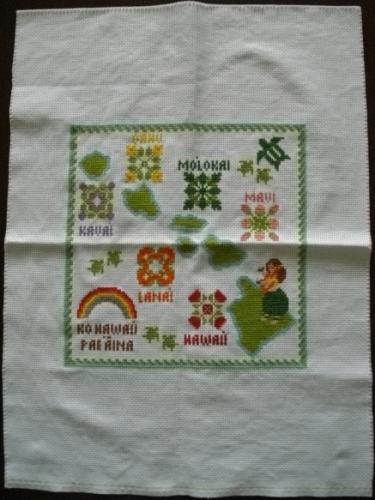 2015.5ハワイ諸島刺繍8