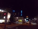 足利の市街地を通過