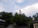 高崎白衣大観音像まで登る