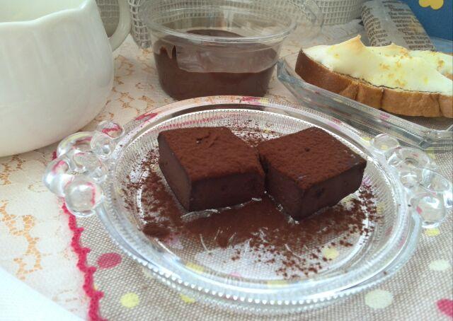 生チョコ&チョコクリーム
