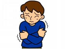 風邪をひくと寒気を感じるのは何故?