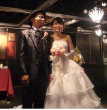 岡部玲子さん結婚披露パーティにて