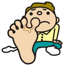 靴の中の水虫菌 撃退法