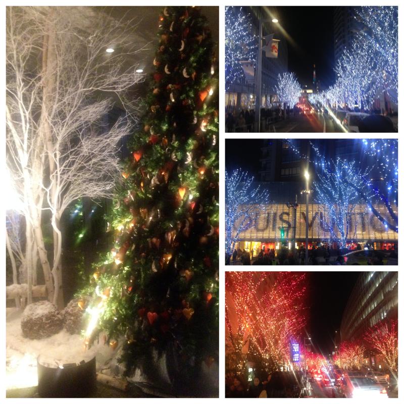 六本木のクリスマスイルミネーション!