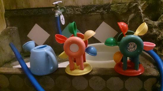 湯本楼 桧風呂おもちゃ