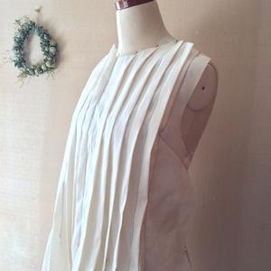 タックワンピース仮縫い