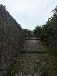 内金城嶽(うちかなぐすくたき)・大アカギ群への入口