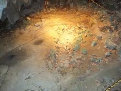 武芸洞の発掘調査