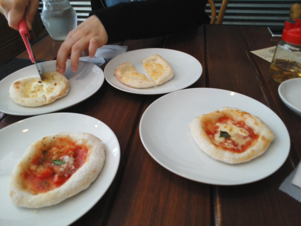 ピザ食べロマン