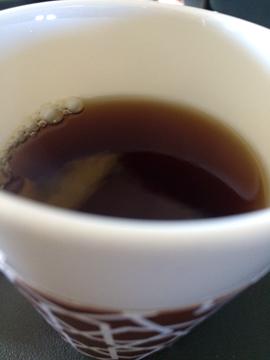 機内食03紅茶