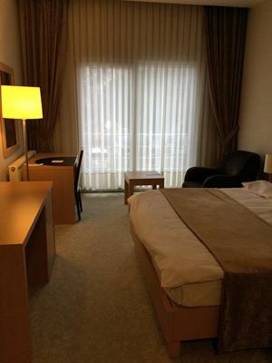 ゲディズホテルの部屋