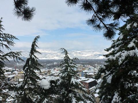 シマーヴ城塞からの眺め