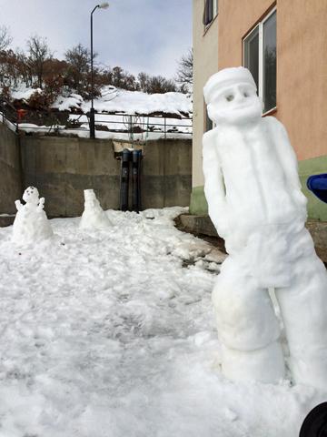 トルコ版雪だるま