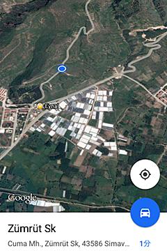 エイナル裏山地図