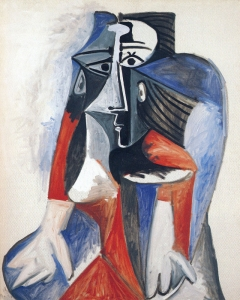 toyama picasso femme assise